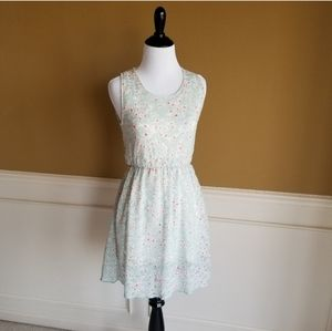 BLOOMING OZ Pale Blue Lace Dress